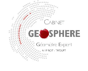 logo Cabinet GEOSPHERE Géomètre-Expert